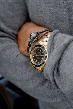 A watch completes your outfit