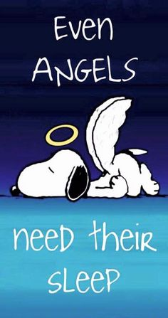 Even angels need their sleep snoopy good night quotes good night images good night wishes good night picture quotes Snoopy Images, Snoopy Pictures, Peanuts Cartoon, Peanuts Snoopy, Charlie Brown Und Snoopy, Snoopy Quotes, Peanuts Quotes, Joe Cool, Bd Comics