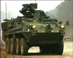 Army Stryker Combat Vehicle - General Dynamics