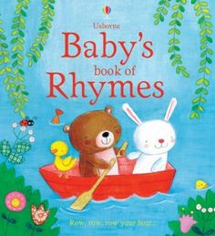 Baby's Book of Rhymes (Usborne Tabbed Board Books) [Board book]