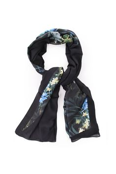 c796c8b77cb5 Ted Baker Womens Accessories susani twilight floral split scarf Ted Baker  Accessories