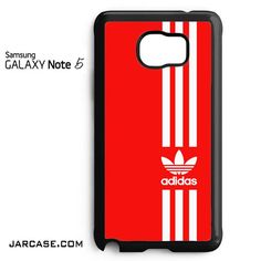 Straight Adidas Red Phone case for samsung galaxy note 5 and another devices
