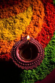 Beautiful Diwali Diya Or Oil Lamp Or Lighting, Selective Focus Stock Image - Image of indian, concept: 77393269 Diwali Craft, Diwali Rangoli, Diwali Decorations At Home, Festival Decorations, Rangoli Painting, Peacock Painting, Diwali Photography, Image Photography, Animal Photography