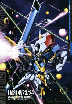 Mobile Suit Victory Gundam: v2 assault buster gundam