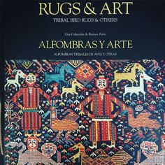 Book of the month! Rugs & Art by Abel Trybiatz. A superb selection of 'bird' design rugs by nomadic tribes of Kamseh confederation in southwestern Iran during the 19th and early 20th centuries. . . . . . . #rugsandart #rugs&art #tribalbirdrugs #birdrugs #tribalrugs #abeltrybiarz #birddesign #nomadic #nomad #kamseh #kamsehconfederation #swiran #antiquerugs #antiquecarpet #persianrugs #iranianrugs #qashqai #afshar #shiklikazak #keyholedesign #transcaucasia #argentinians #nazmiyalcollection…