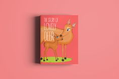Lovely Deer by lisamoon on @creativemarket