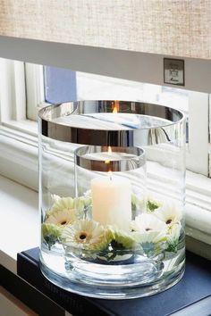Rivièra Maison Double Hurricane - Windlicht - Transparant