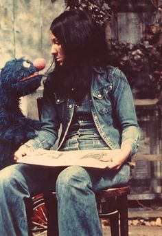 Buffy Sainte-Marie in The Muppet Show.