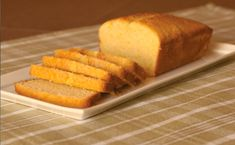 Golden Corn Pound Cake - Gluten-Free Living just use lactose free milk