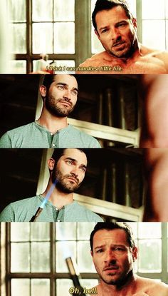 Derek and Peter