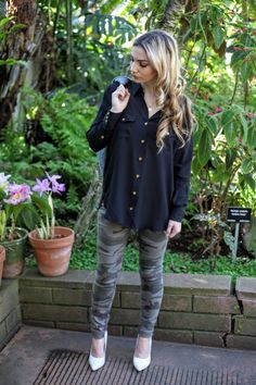 Long Hair Affair Fashion Blog By Ellie Connard I've had my heart set on finding the perfect camo denim for too long, True Religion quality can not be beat!