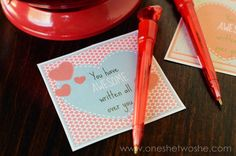 AWESOME Written All Over You ~ Valentines Printable www.orsoshesays.com
