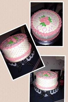 mango chiffon cake with italian swiss meringue buttercream