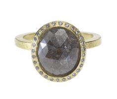 trdr481_18ky_o48 | 18ky gold, gray fancy diamond (3.36ctw), white brilliants (.112ctw)