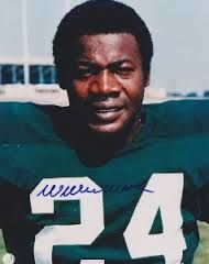 Green Bay Packers - Willie Wood - Inducted to Pro Football Hall of Fame in 1989 - Played for Packers 1960 to 1971