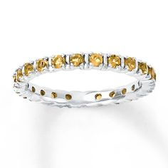 Citrines Stackable Ring - For baby H. One for my first daughter as well in her birthstone