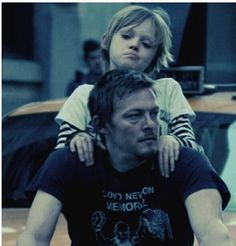 Norman Reedus and his son, Mingus