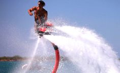 Flyboard - Coolest Water Jet Pack EVER!!!, via YouTube.