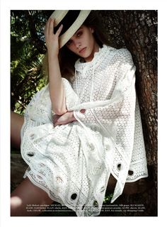 """Ray of Light"" Madison Headrick for ELLE July 2015 #pixiemarket #fashion @pixiemarket"