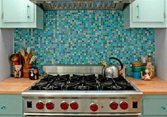 Backsplashes Glass Mosaic Tile