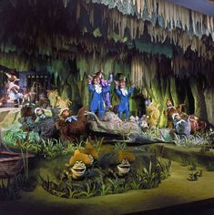 Tomorrowland [Part - Imagineering Disney - America Sings replaced Carousel of Progress at Disneyland Disney Princess Facts, Disney Fun Facts, Old Disney, Disney Love, Disney Stuff, Punk Disney, Disney Theme, Disneyland Tomorrowland, America Sings