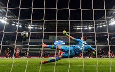 Leverkusen-Atlético de Madrid en imágenes
