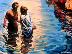 John the Baptizer. John the Baptist with Jesus.