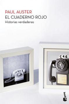 «El cuaderno rojo», Paul Auster Booket, mayo 2012