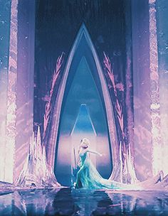for halloween I could be Elsa but what Elsa would look like if she didnt escpae the chandelier in time