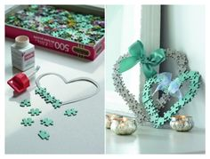 Easy Diy Jigsaw Puzzle Bookmarks Pinterest Puzzle