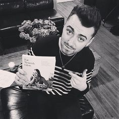 Sam Smith and Amelia Freer's book... eating healthy & feeling happy inside and out.