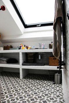 salles de bains carreaux Laure Vial du Chatenet