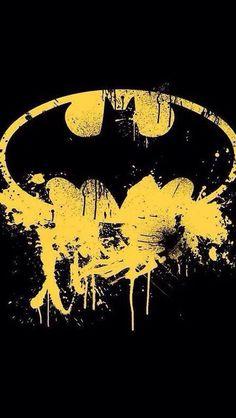 black #yellow #batman #symbol   BATMAN!!!   Pinterest   Symbols ...