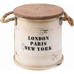Barrel Furniture, Diy Furniture, Jar Crafts, Diy And Crafts, Diy Projects To Try, Vintage Decor, Repurposed, Decoupage, Recycling