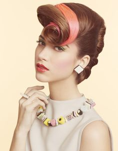 50's Candy Theme Photo shoot | Hair by Nicole