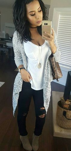 REALLLY LIKE THIS OUTFIT,, LOVE THE CARDIGAN,, MAYBE WITH DIFFERENT SHOES
