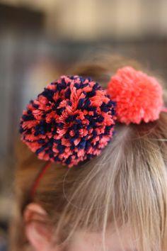 Pompon Bonton #Headband