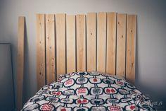 Helmihytti: DIY - Tee itse tunnelmallinen sängynpääty laudoista