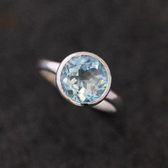 ROCK Fetish in Sky Blue Topaz and Sterling Made by onegarnetgirl, $228.00