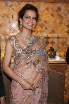 Kangana at Launch of http://www.Sunar.co/ Jewel House, April, 2015 (2633, Bank Street, Karol Bagh, Delhi)