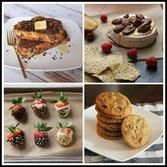 Check out our delicious Valentine's Day recipes. #recipes #chocolate #strawberries #cheese #cookies #valentines #frenchtoast