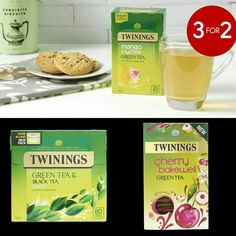 3 for 2 on Green Teas – use code:GREEN Valid from: 30th June – 31st July 2017