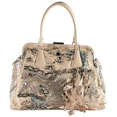 Valentino Lambskin Embellished 'Alice Glam' Tote | Valentino Handbags from Bag Borrow or Steal™