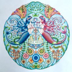 Johanna Basford | Picture by Morena Vajak | Colouring Gallery