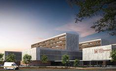 Luanda University Hospital, Camama, Cabiri, Angola, 2014 | Design - Eduardo Souto de Moura - Albert de Pineda Alvarez | © COSTALOPES
