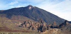 El Teide @Tenerife    Med udsigt til vulkanen fra hotelværelse
