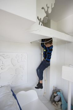 To abeværelser til fire drenge - designbykalledesignbykalle