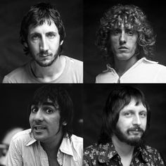 Their best known line-up consisted of lead singer Roger Daltrey, guitarist Pete Townshend, bassist John Entwistle and drummer Keith Moon. JOHN HAS A LITTLE GRIN :o)