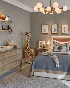 A sophisticated kids room is not an oxymoron! Textured walls playful accessories and pops of color make this room fun. Baby Bedroom, Home Bedroom, Kids Bedroom, Bedroom Decor, Nursery Bedding, Bedding Sets, Wall Decor, Toddler Rooms, Kids Rooms