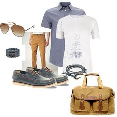 First Summerday Look | Men's Outfit | ASOS Fashion Finder
